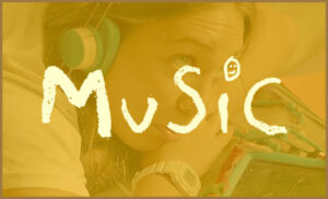 A poster for the autism-centric film Music