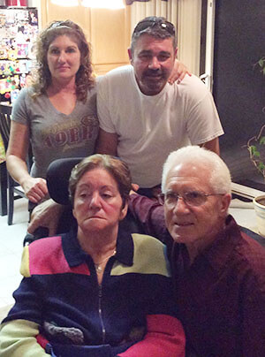 Brenda and Cesar care for their mother living with Alzheimer's